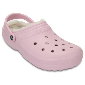 Crocs Classic Lined Clogs Women Pink/Oatmeal